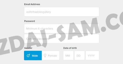 Веб формы в html5